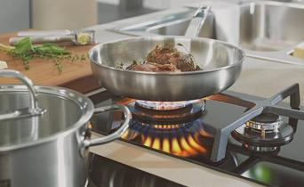 All heat sources to cook on in your kitchen