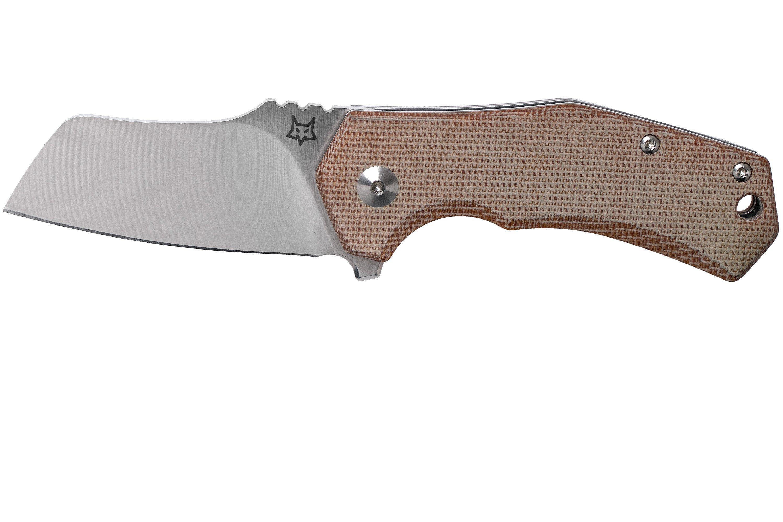 Fox Knives Italicus FX-540NA Natural Micarta Taschenmesser, Antonio Di  Gennaro Design   Günstiger shoppen bei knivesandtools.de
