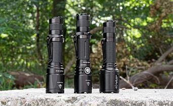 Fenix tactical lights: 3 masterpieces
