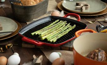 Cast Iron Grilling