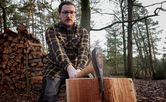How to: split wood