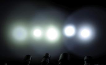 Light beam, light source, light image? Knivesandtools explains.