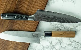 Japanese versus European kitchen knives