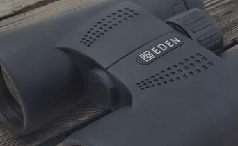 How do you handle binoculars?