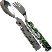 Akinod Multifunctional Cutlery 13H25 Jungle, outdoorbestek
