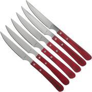 Amefa Brasero 4957 couteaux à steak, 6 pièces