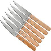 Amefa Pizza 7000 seis cuchillos para carne