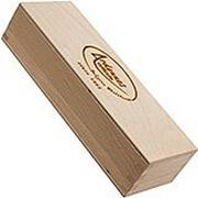 Ardennes Coticule wooden storage box for whetstone 150x40mm