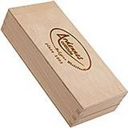 Ardennes Coticule wooden storage box for whetstone 150x60mm