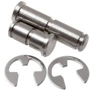 Agawa spare pins and c-clips