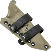 Armatus Carry Architect gaine pour le Benchmade Bushcrafter 162, flat dark earth