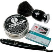 Böker Barberette Black 140901SET coffret cadeau, shavette