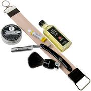 Böker King Cutter Shaving Starter Set 141524SET set de rasage rasoir coupe-coux