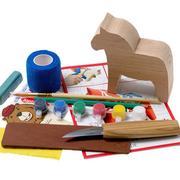 BeaverCraft Dala Horse Carving Hobby Kit DIY02, wood carving set