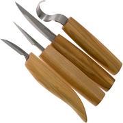 BeaverCraft Set of 4 knives S09 Holzschnitzset