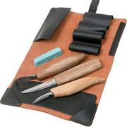 BeaverCraft Extended Spoon Carving Set S13x, wood carving set