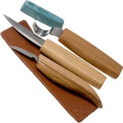 BeaverCraft Extended Spoon Carving Set S13 Holzschnitzset
