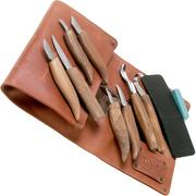 BeaverCraft Extended Wood Carving Set S18x Limited Edition, wood carving set