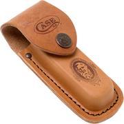 Case Leather sheath medio Job Logo 09026 funda de cuero