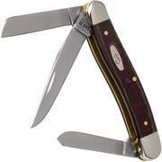 Case Medium Stockman Rustic Red Richlite, 13622, 10318 SS coltello da tasca