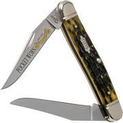 Case Muskrat Pocket Worn Olive Green Bone, Peach Seed, 38195, MUSKRAT SS couteau de poche