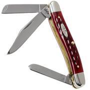 Case Medium Stockman Pocket Worn Old Red Bone, 00786, 6318 rostfrei, Taschenmesser