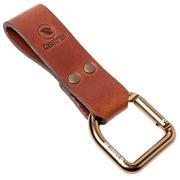 Casström Dangler & Belt Loop Cognac, belt loop for knife sheaths 10101
