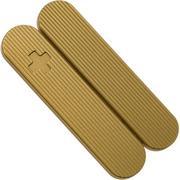 Daily Customs 58.2 Pinstripes Pattern, Brass P10009501 Victorinox greepschalen