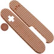 Daily Customs 91.3 Golfball BS Pattern, Copper P10012432 Victorinox Griffschalen