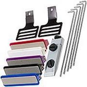 EZE-LAP DMD/C Kit, slijpsysteem met vijf slijpstenen