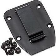 ESEE clip de ceinture plat pour étui des modèles 3 & 4, black