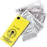 ESEE/Rite in the Rain RAT survival / nav cards, NAV-CARD