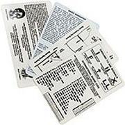 ESEE Survival Card Set For Survival and E&E, SURV-CARD