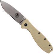 ESEE Knives Zancudo D2 Desert Tan-Stonewashed, BRKR2DT Taschenmesser