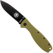 ESEE Knives Zancudo D2 OD-Green-Black, BRKR2ODB Taschenmesser