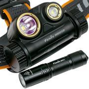 Fenix HM65R head torch with free Fenix E01 V2.0 flashlight