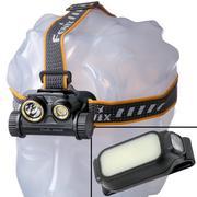 Fenix HM65R head torch with free Fenix E-LITE flashlight