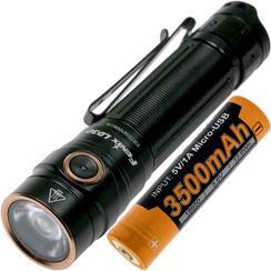Fenix LD30, 1600 lumen accu 3500mAh 18650 inclus