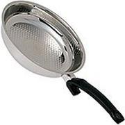 Fissler Crispy Steelux Comfort koekenpan, 26cm
