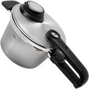 Fissler Vitavit Premium 622-212-02-070 Schnellkochtopf 18 cm, 2,5 L mit Dampfeinsatz