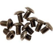 Flytanium Benchmade Bugout Screws Titanium, gold