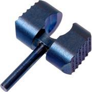 Flytanium Manix 2 Ball Cage Lock, blue titanium