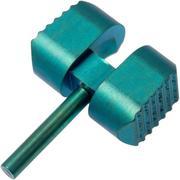 Flytanium Manix 2 Ball Cage Lock, green titanium