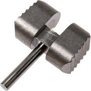 Flytanium Manix 2 Ball Cage Lock, titanium