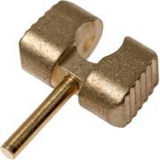 Flytanium Manix 2 Ball Cage Lock, laiton