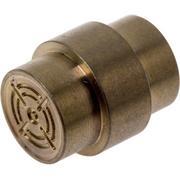 Flytanium Paramilitary 2 & 3 Lanyard Hole Stopper Crosshair, titanium bronze