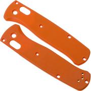 Flytanium Benchmade Bugout Scales, orange G10