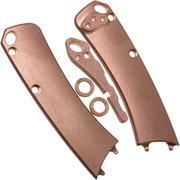 Flytanium Benchmade Mini Crooked River Scale, Pivot Collars & Backspacer, cuivre