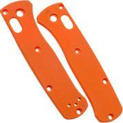 Flytanium Benchmade Mini-Bugout Scales, Orange G10