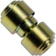 Flytanium Titanium Thumbstud Kit pour couteaux de poche Benchmade, Gold